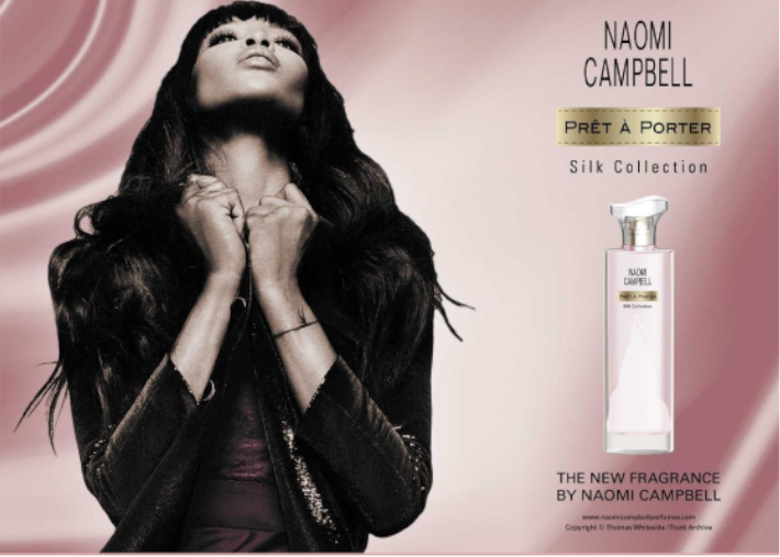 Naomi Campbell Prét a Porter Silk Collection